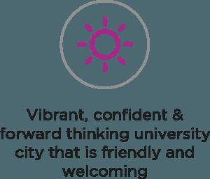 Vibrant, Confident