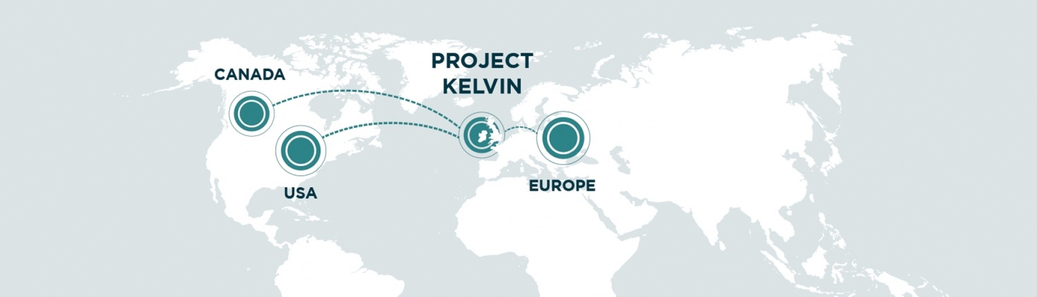 World Map for Project Kelvin